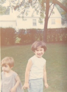 Little Suzy with toddler Renee in New Jersey
