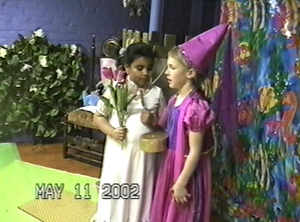Garden fairy with Sarah on Krendoll island.