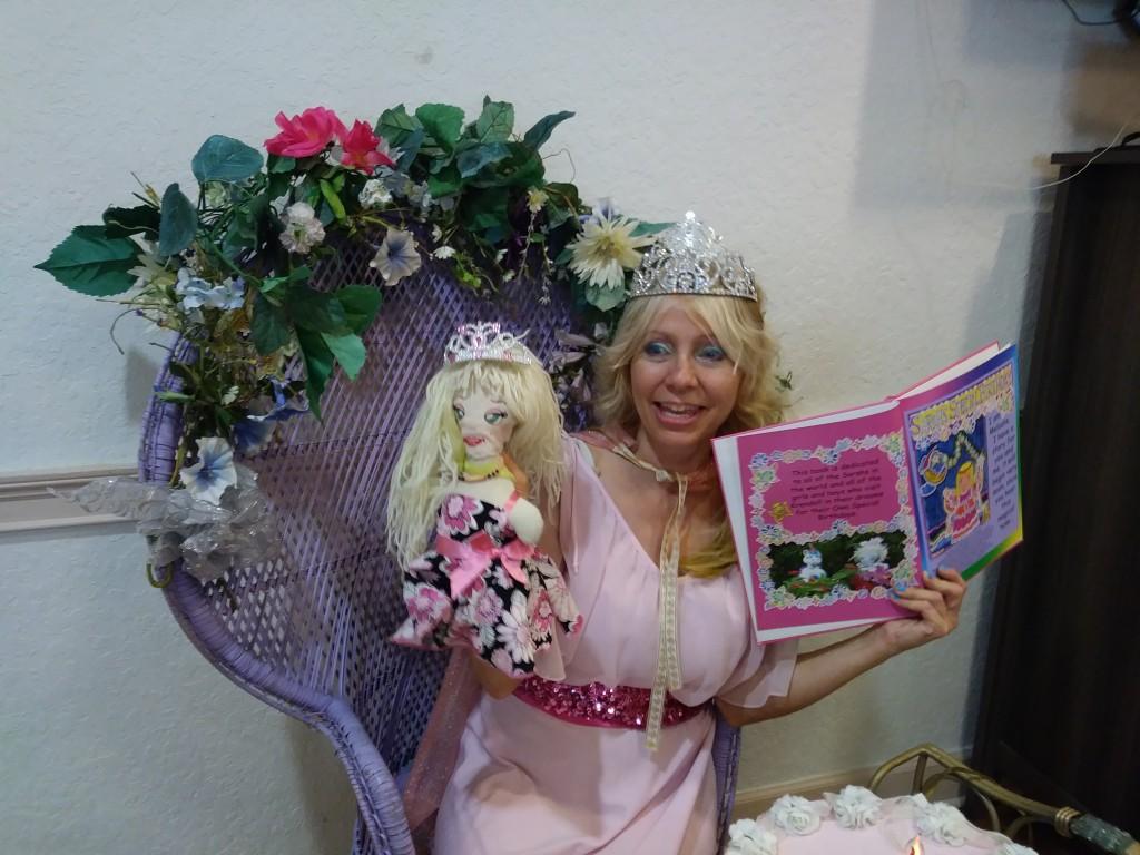 Nursing Home Birthday reading